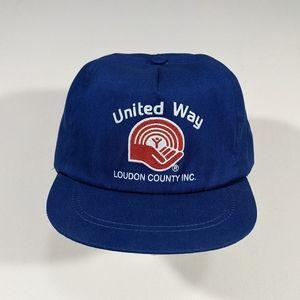 Vintage 90s TN United Way Snapback Hat